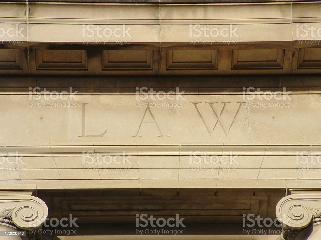 Law building royalty-free stock photo