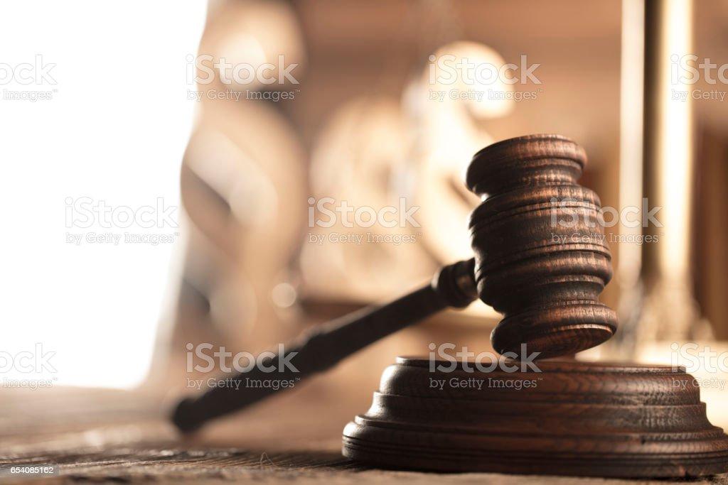 Law code stock photo