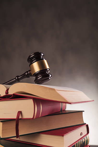 law-konzept - bücherbund stock-fotos und bilder