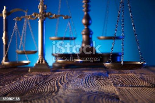 istock Law concept 679692168