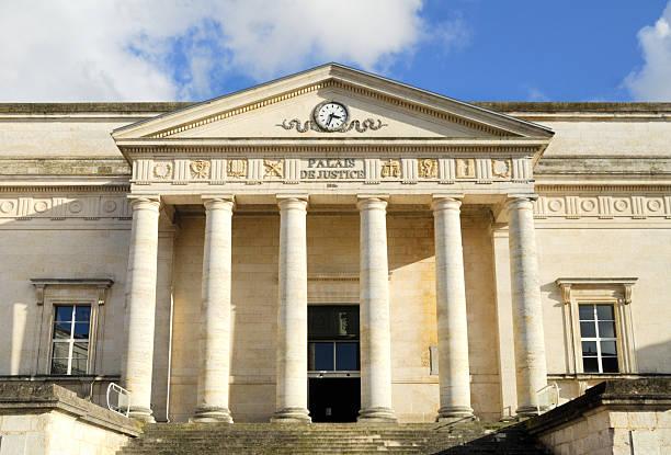 Courts de justice, Angoulême, France - Photo