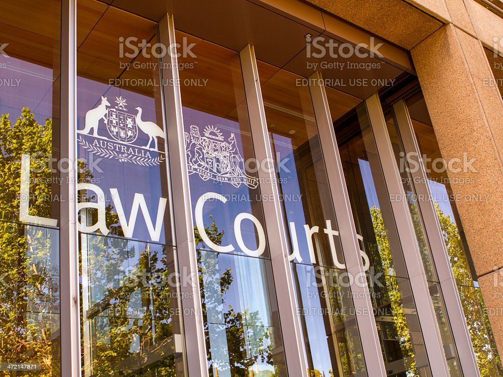 Law Courts stock photo