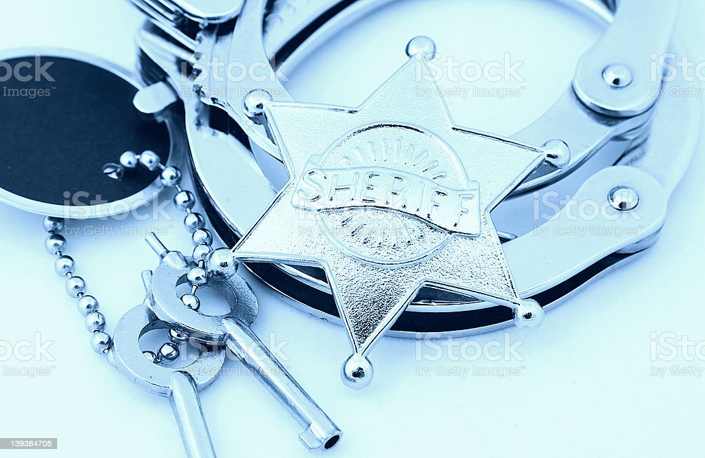 Law Enforcement 2 royalty-free stock photo