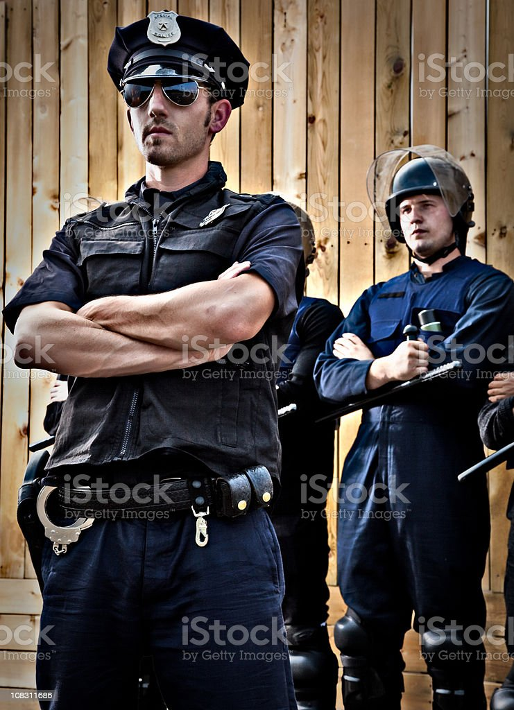 Law Enforcement royalty-free stock photo