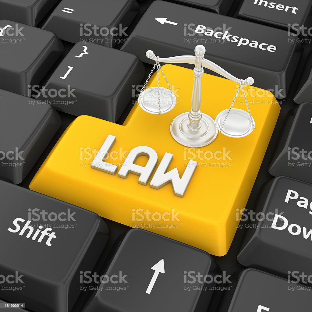 law enter key royalty-free stock photo