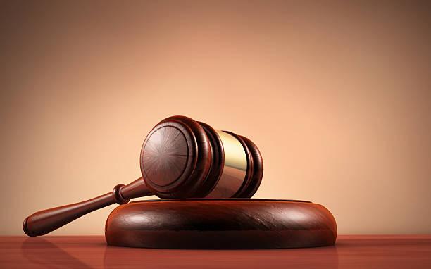 law judge and justice symbol - exploitatie stockfoto's en -beelden