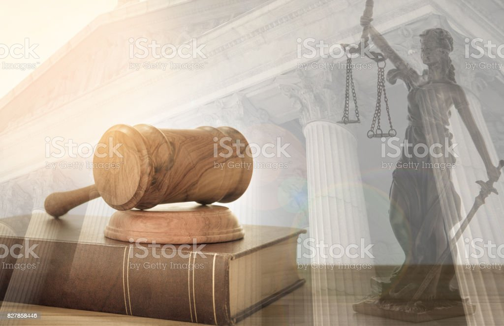 justicia legal Ley - foto de stock