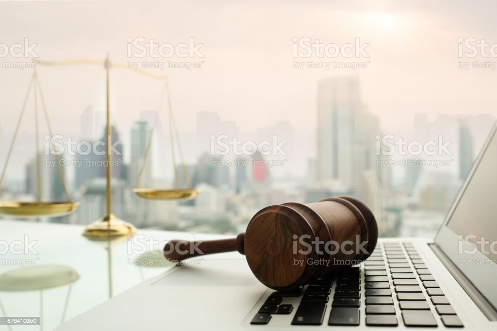 law legal technology stock photo