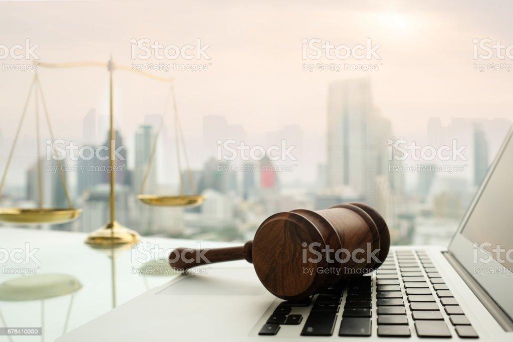 tecnología legal Ley - foto de stock