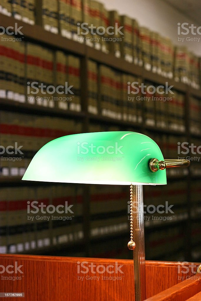 Law Library 1 royalty-free stock photo