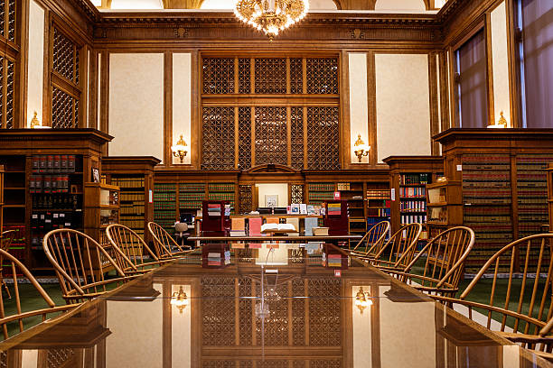 Law library at Olympia, Washington stock photo
