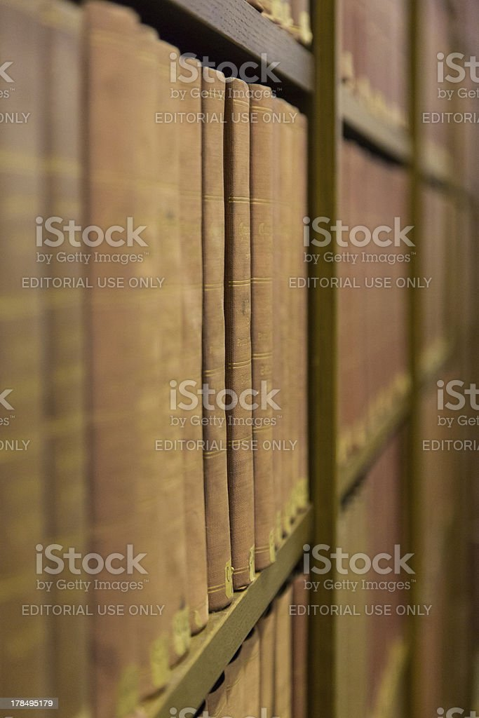 Law Library royalty-free stock photo