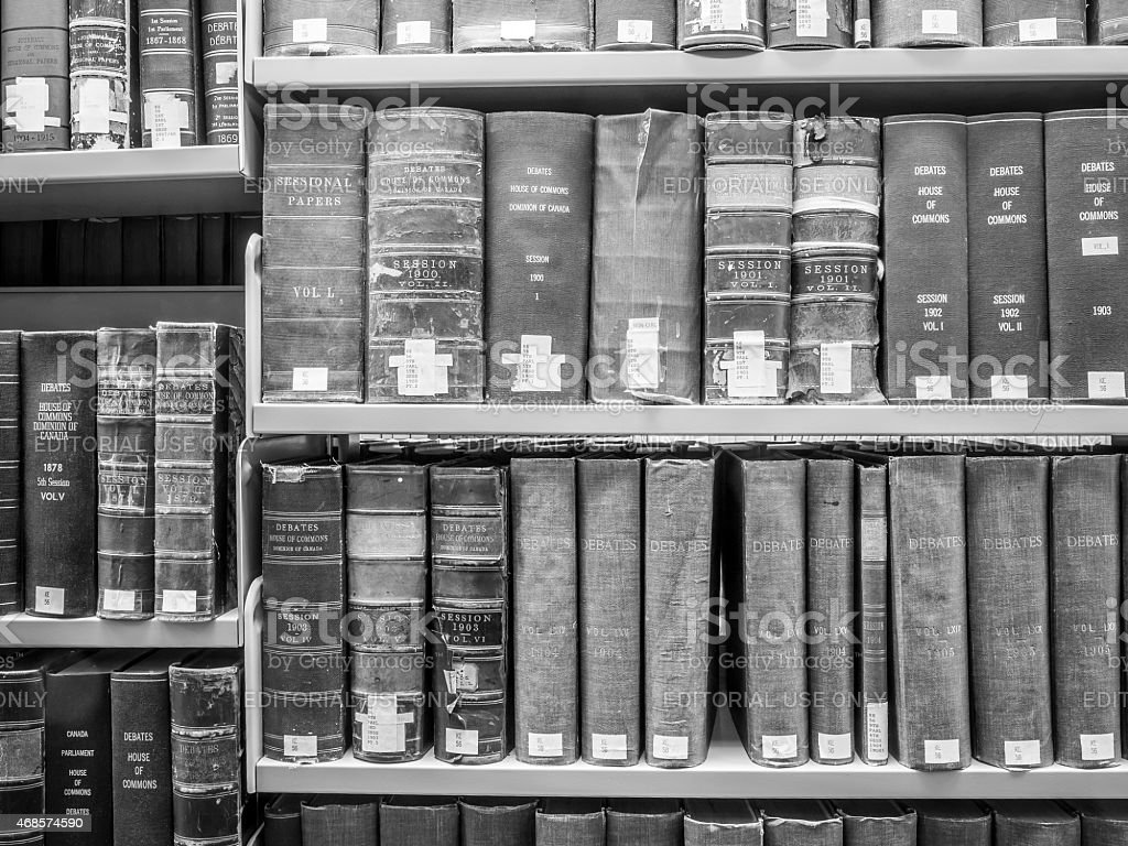 Law Library stock photo