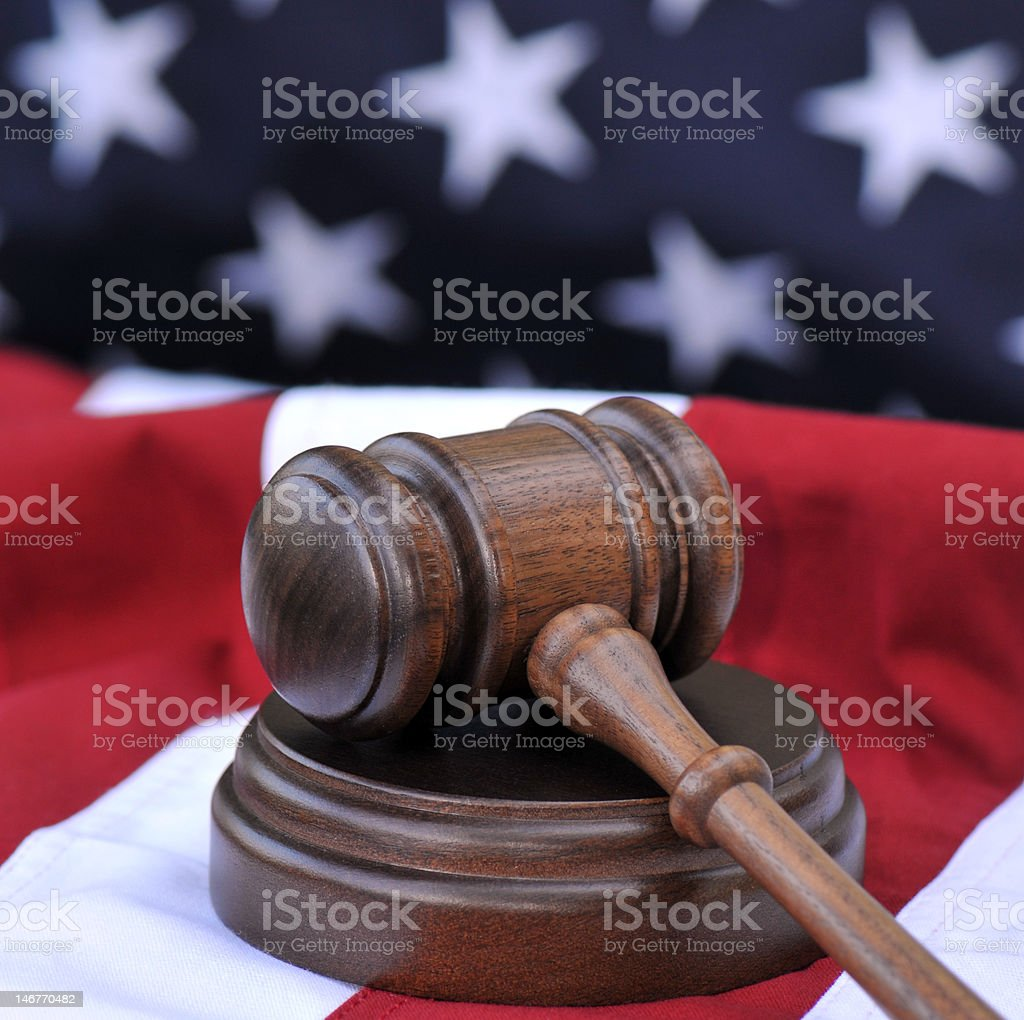 Law Of The Land royalty-free stock photo
