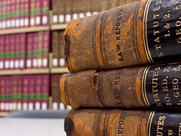 ley de informes - biblioteca de derecho fotografías e imágenes de stock