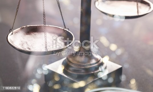 istock Law scales. 1160832810