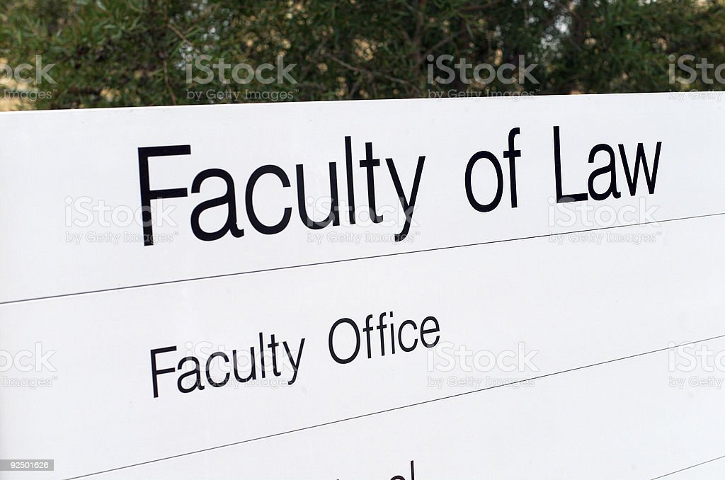 Law School royalty-free stock photo