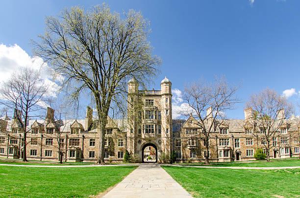 Law School Quadrangle, University of Michigan The Campus of the University of Michigan Law School in Ann Arbor is also known as
