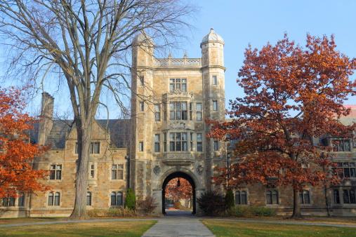 istock Law School Quadrangle, University of Michigan 183348944