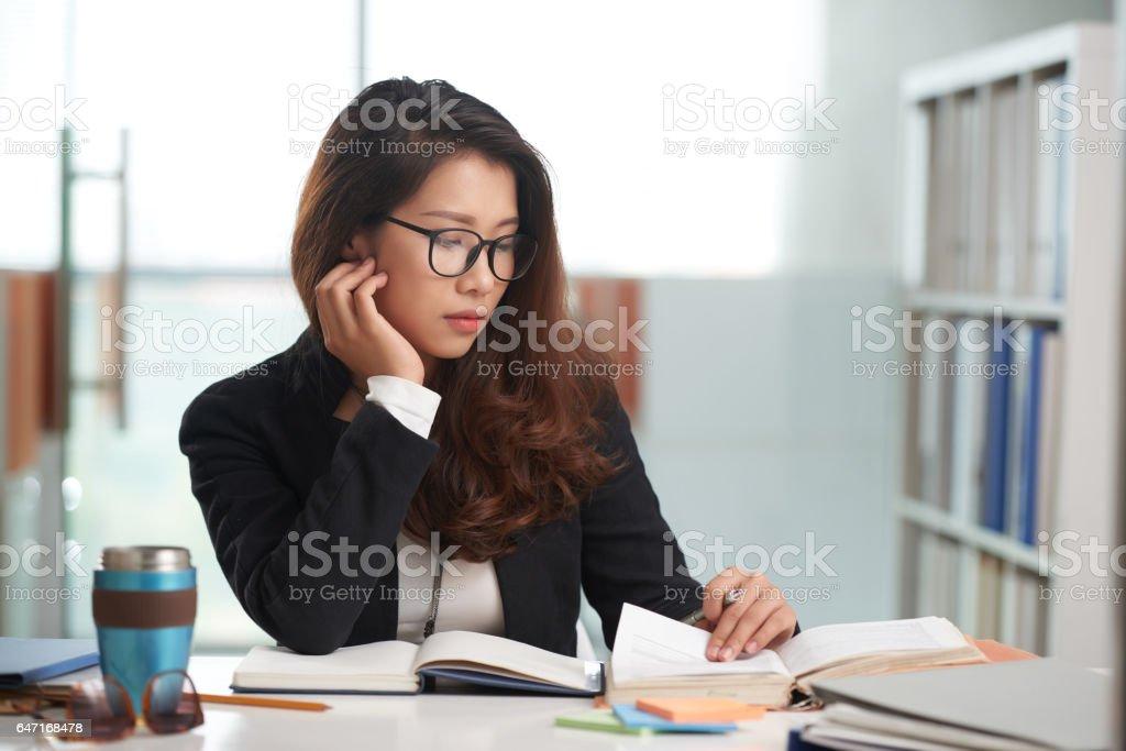 Law student stock photo