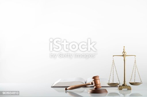 istock Law symbols isolated 903934810