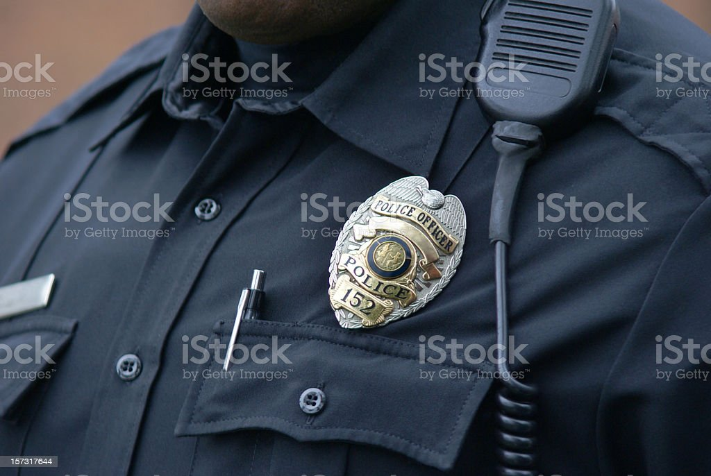 Lawman stock photo