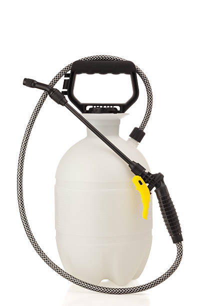 Lawn and Garden Sprayer for Dispensing Pesticide or Herbicide stock photo
