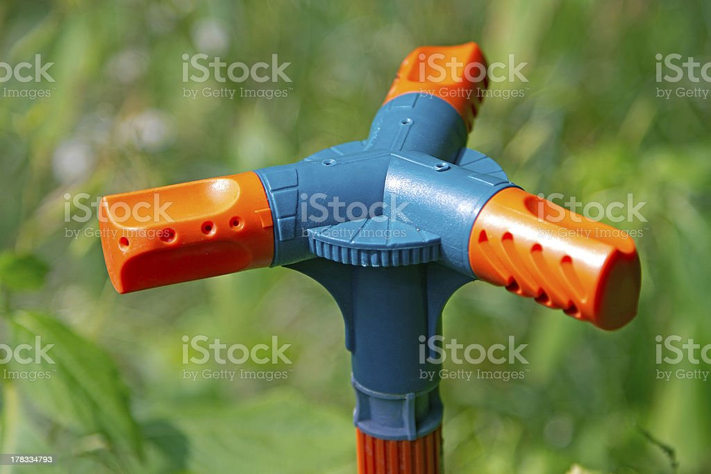 Lawn Sprinkler royalty-free stock photo
