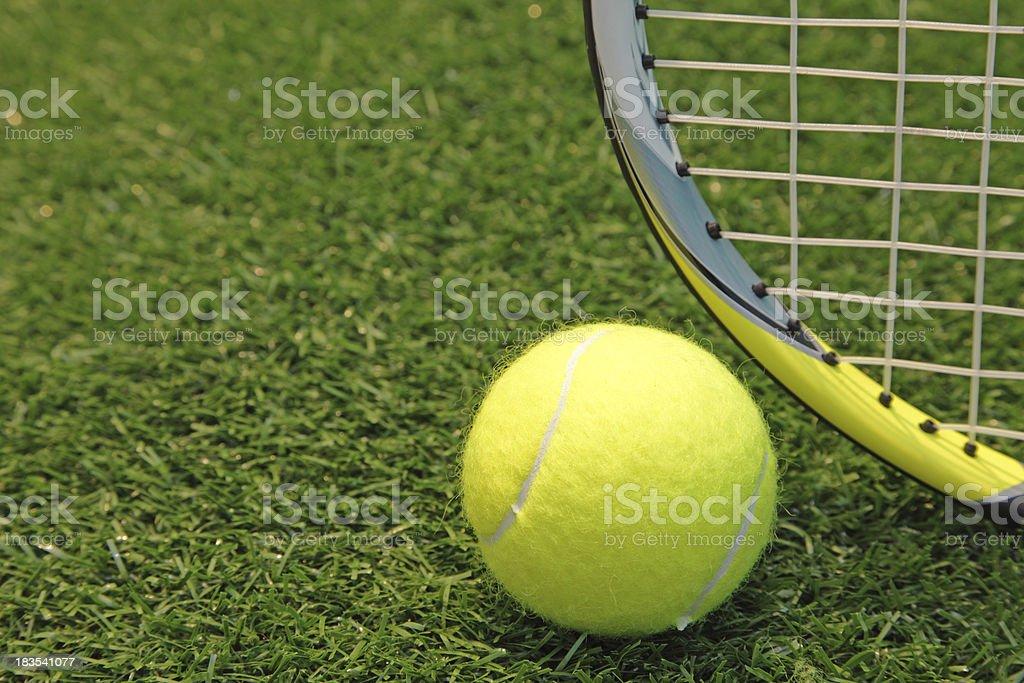 lawn tennis -concept stock photo