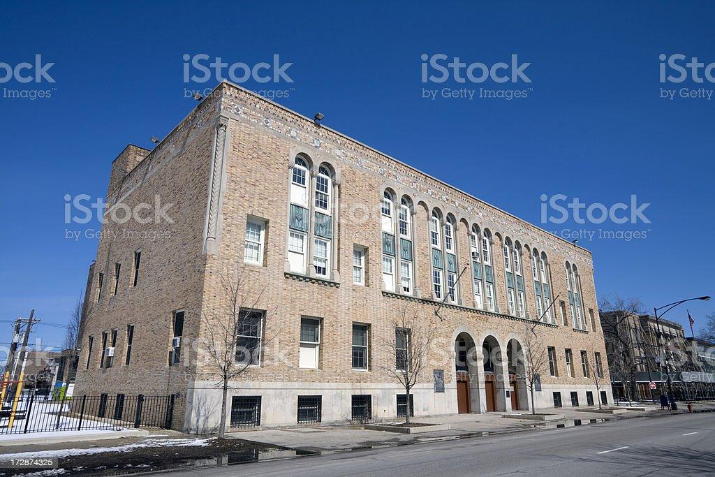 Lawndale Community Academy royalty-free stock photo
