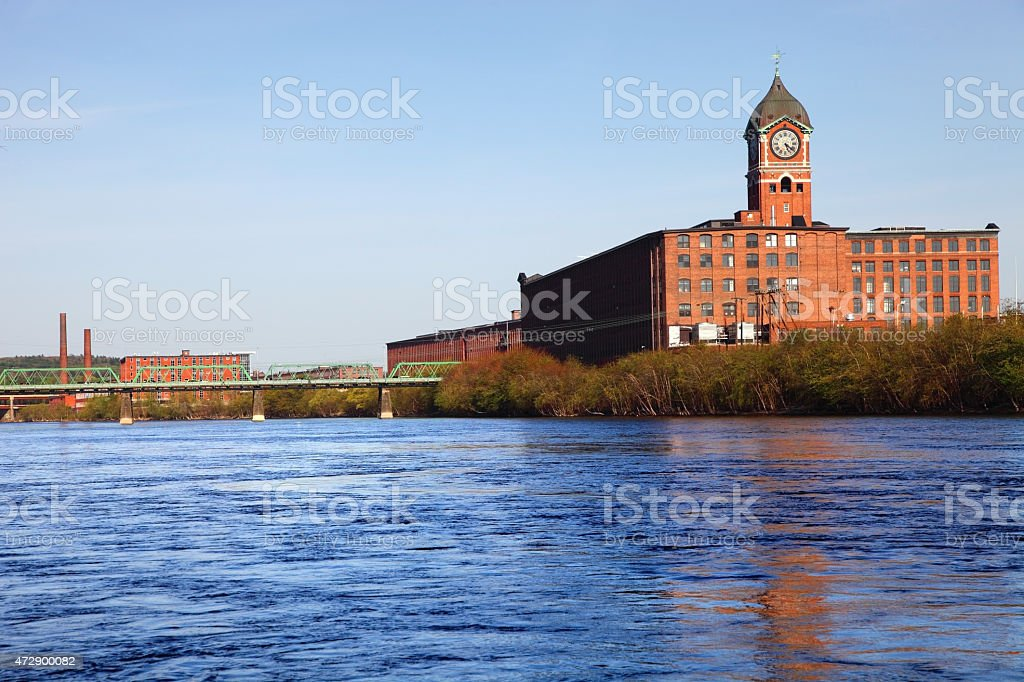 Lawrence Massachusetts stock photo