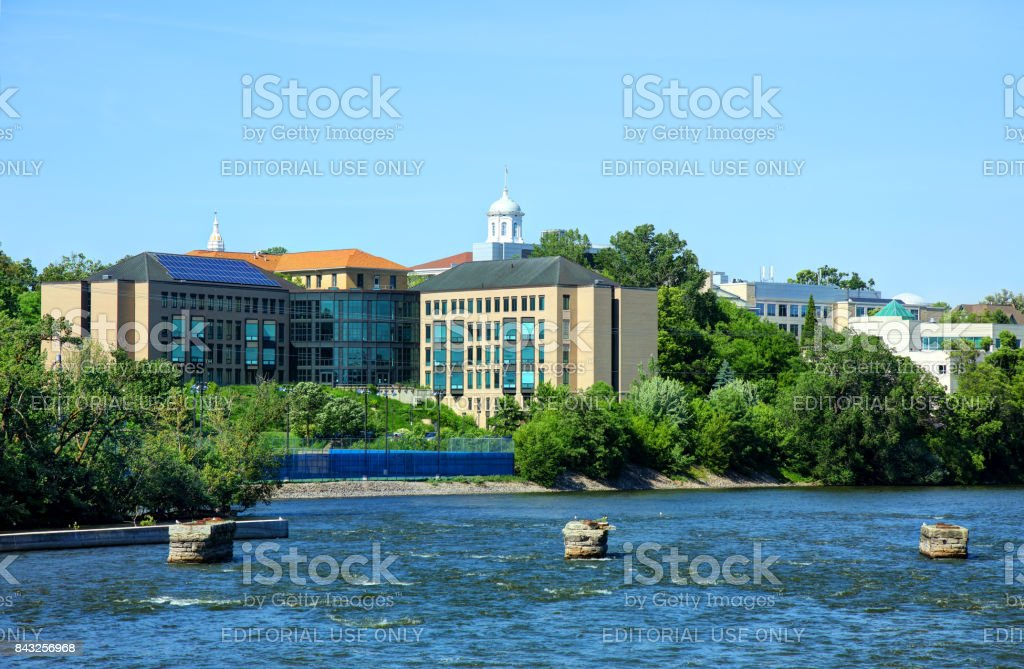 Lawrence University in Appleton stock photo