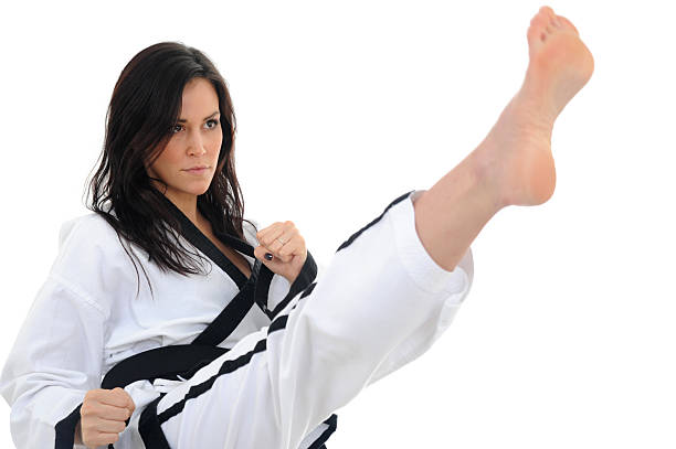 laws of korean karate - karate stock photos and pictures