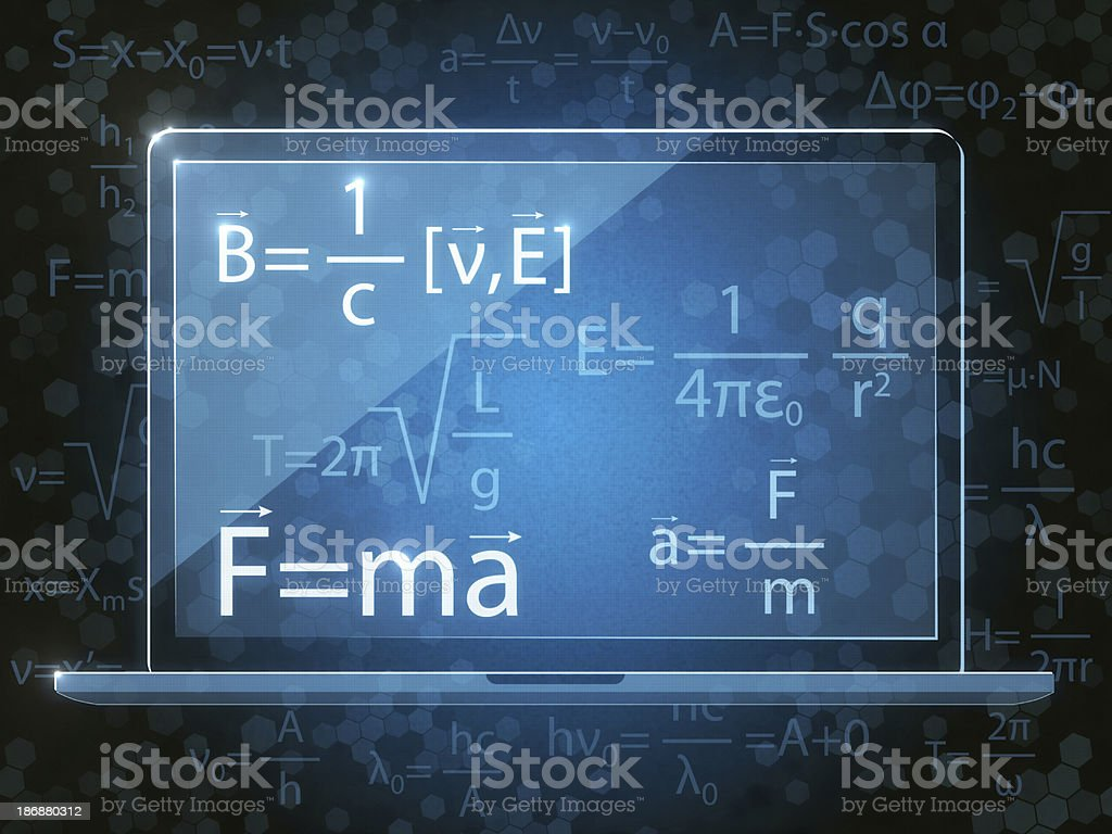 Laws of Physics stock photo