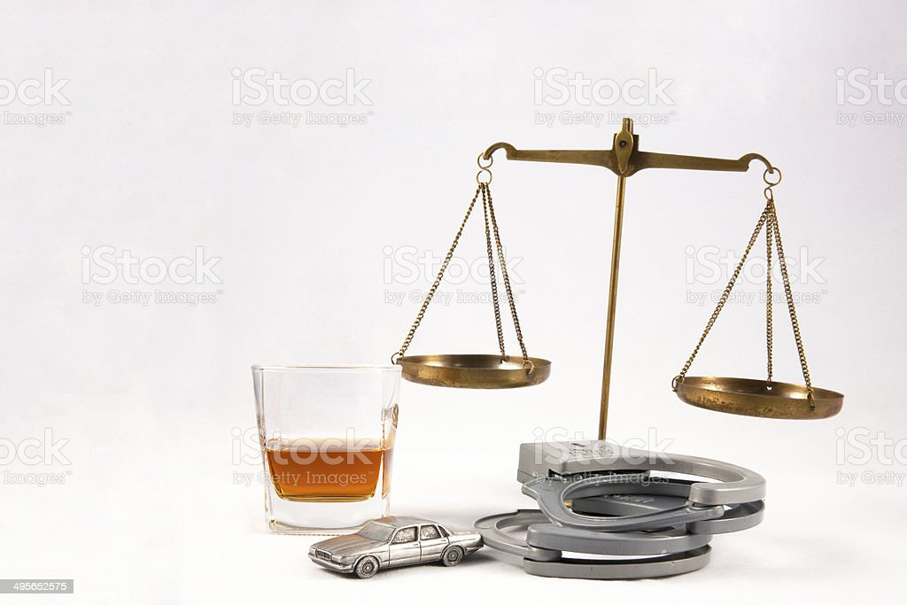 DUI Lawyer Concept stock photo