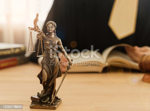 1157633068 istock photo Lawyer Legal advice 1220278820
