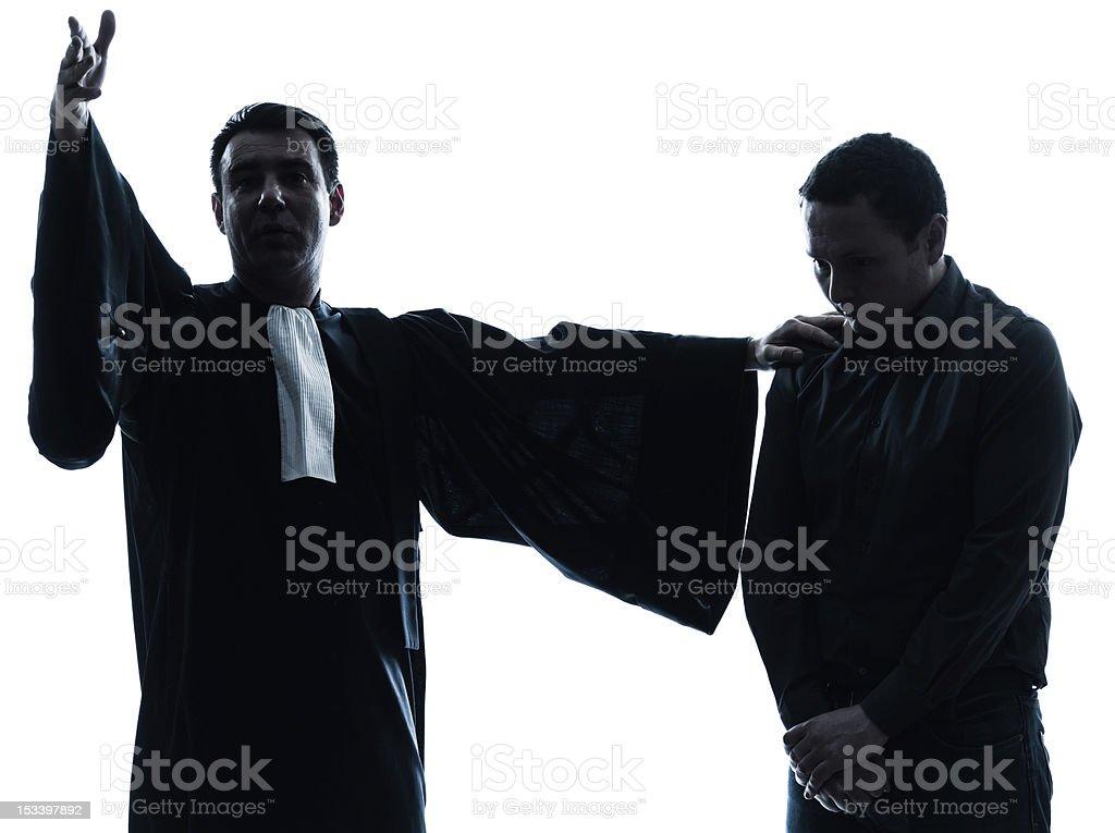 lawyer man pleading royalty-free stock photo