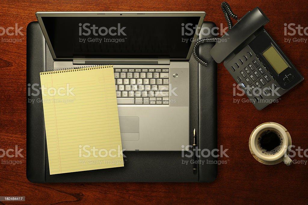 Lawyer's Desk royalty-free stock photo