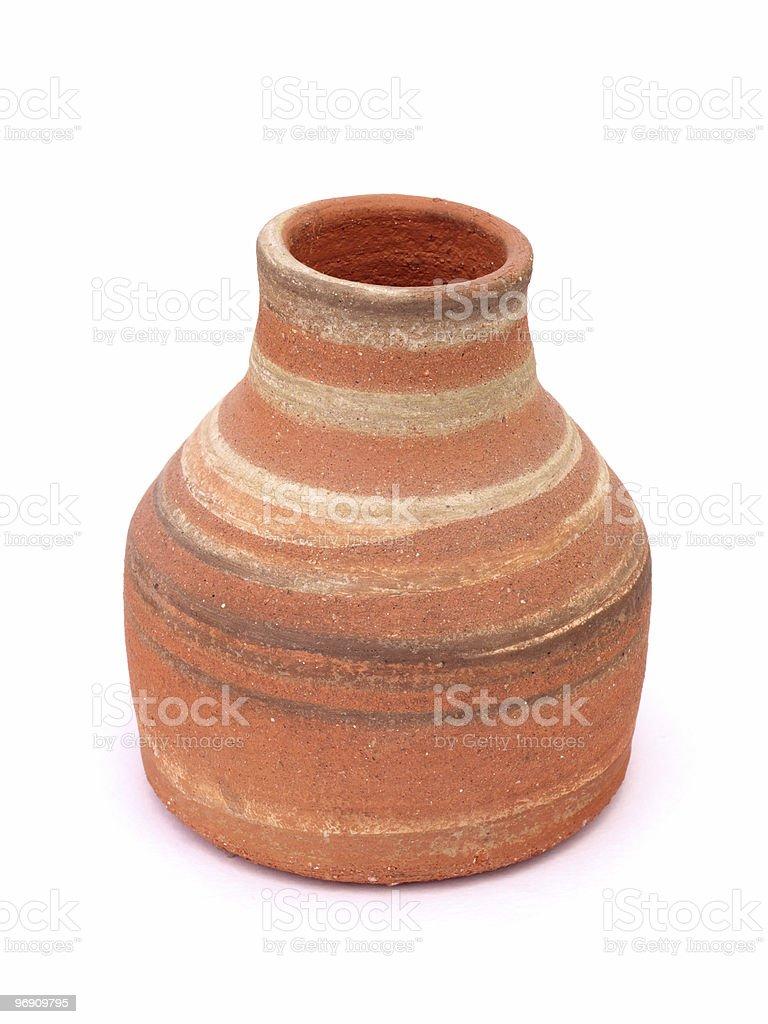 Сlay vases royalty-free stock photo