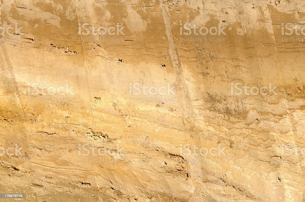 layer of earth stock photo
