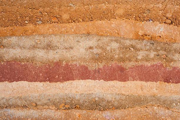 warstwa gleby - geologia zdjęcia i obrazy z banku zdjęć