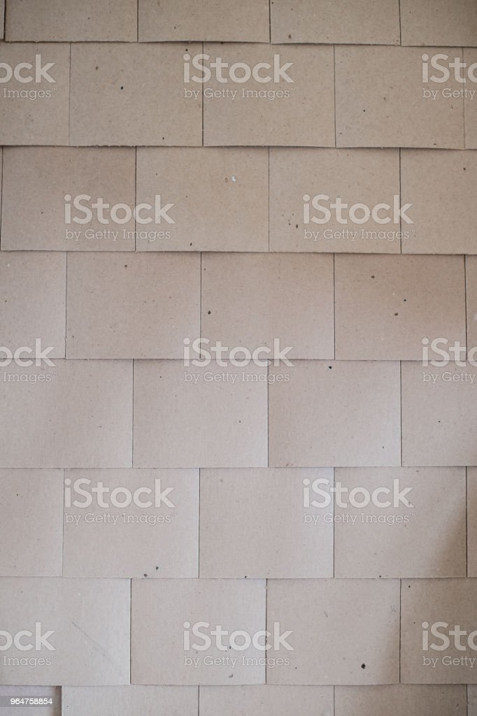 layer of wood plank arranged as a wall royalty-free stock photo