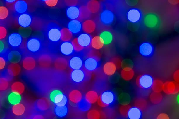 lagen aus seil mit weihnachten lichter mittlere sided highlights. - lichtschlauch stock-fotos und bilder