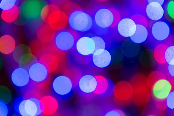 mehrlagiges unscharf gestellt lichter weihnachten seil. - lichtschlauch stock-fotos und bilder
