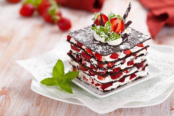 dessert au chocolat - Photo