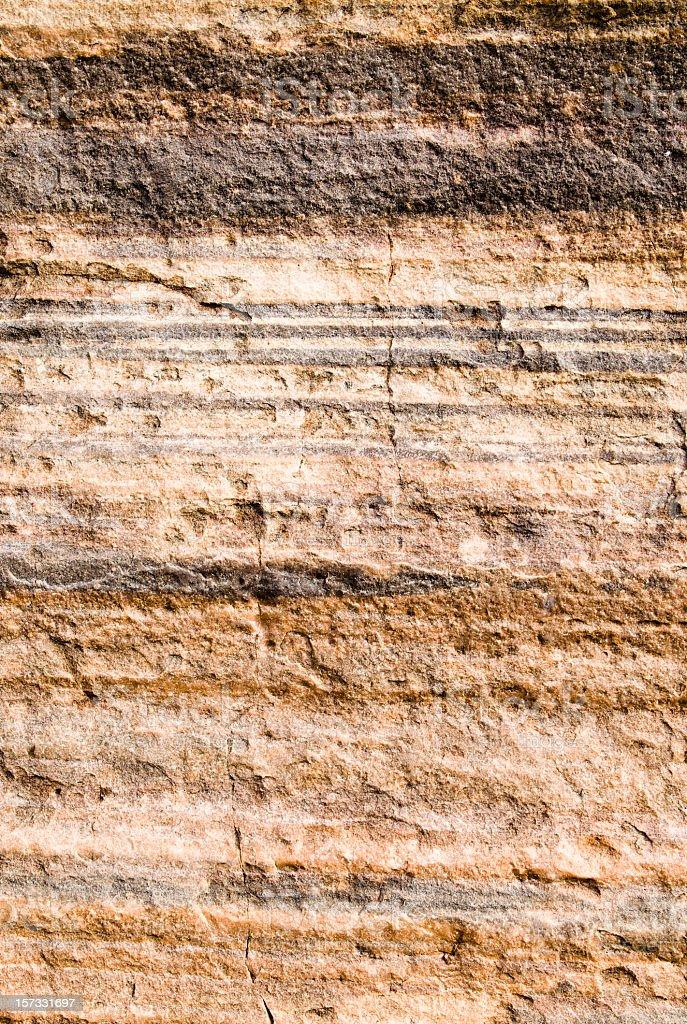 Layered Rock Background stock photo