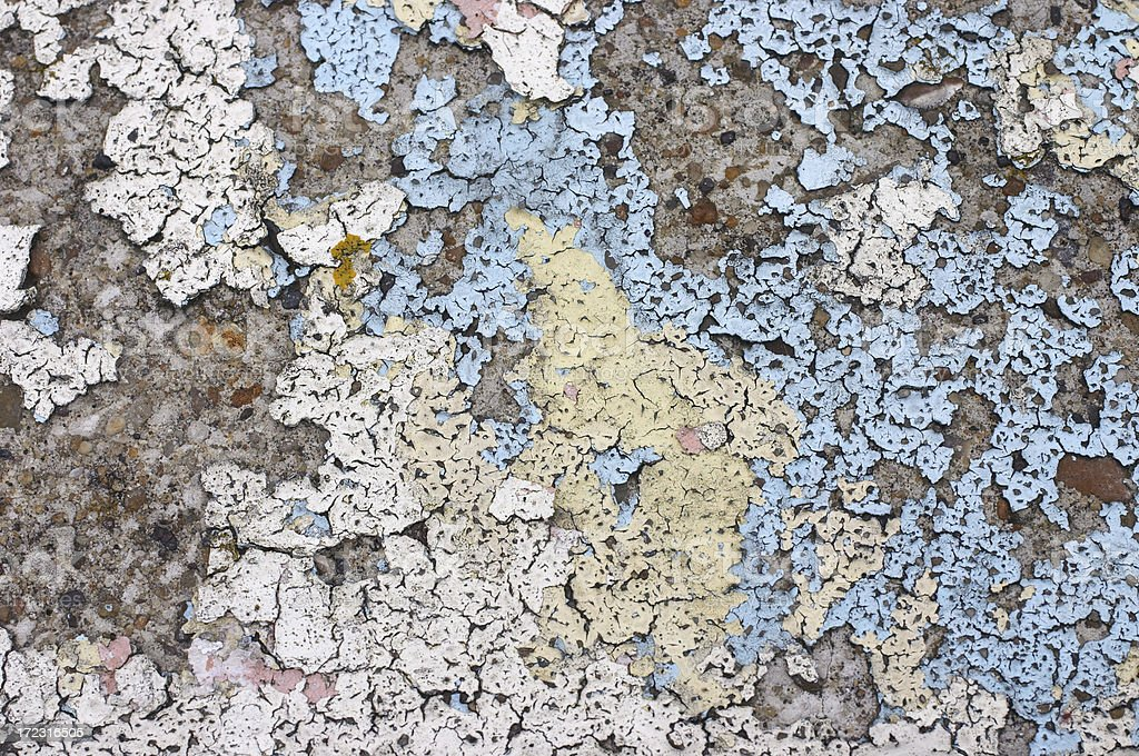 Peeling paint is appealing royalty-free stock photo