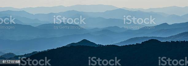 Photo of Layers of Mountain Ridges