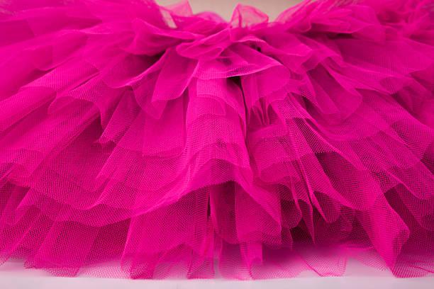 lagen aus netzgewebe aus ballett ballettröckchen - tüllkleid stock-fotos und bilder
