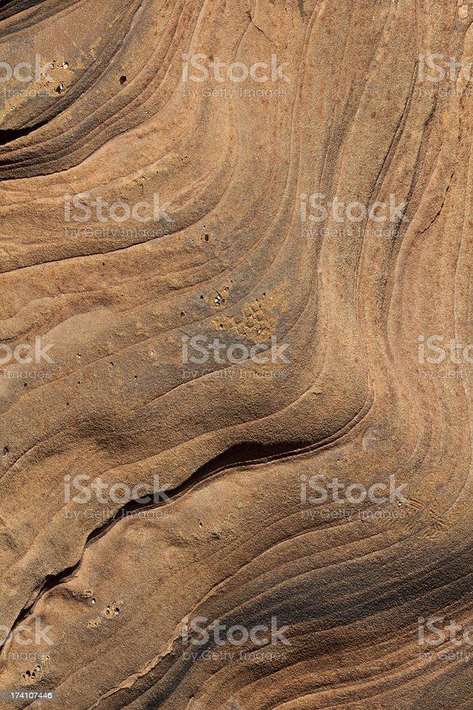 Layers of Sandstone stock photo